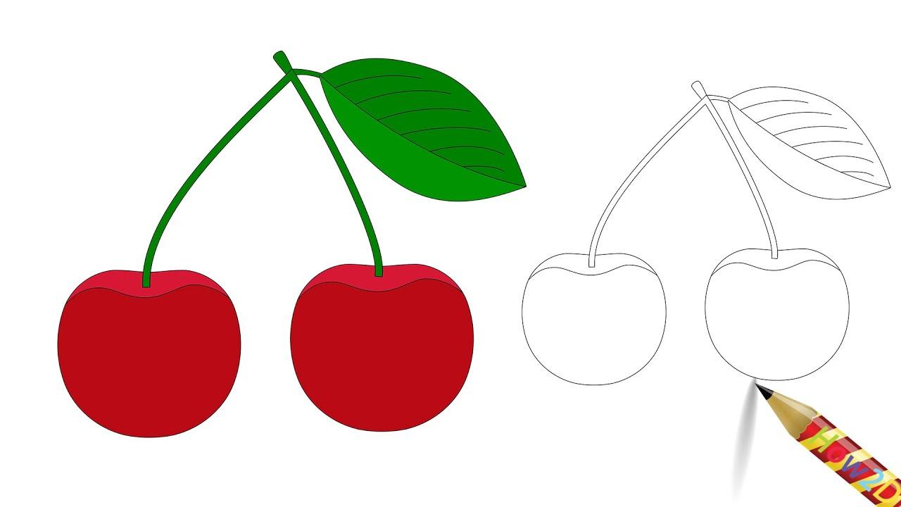 Cherries Quick sketch