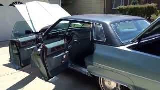 1976 Cadillac Sedan DeVille 22K Original miles