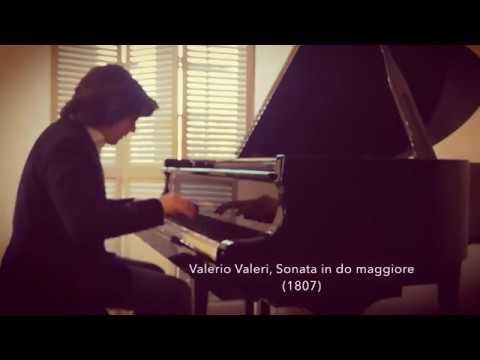 Valerio Valeri - Sonata in Do magg. - Emanuele Stracchi, pianoforte