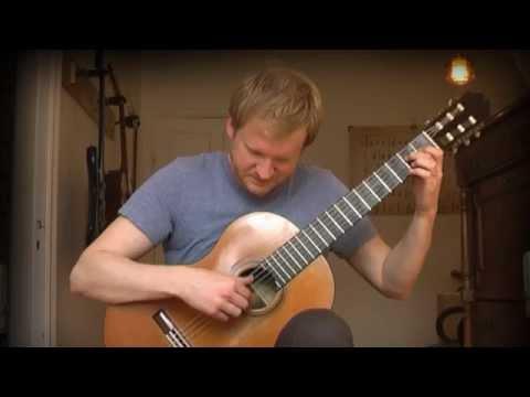 Francisco Tarrega - Recuerdos De La Alhambra (Acoustic Classical Guitar Tabs Cover)