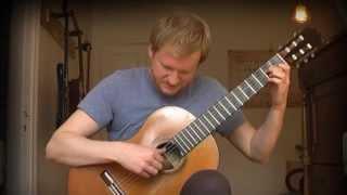 Francisco Tarrega - Recuerdos de la Alhambra (Acoustic Classical Guitar Cover by Jonas Lefvert)
