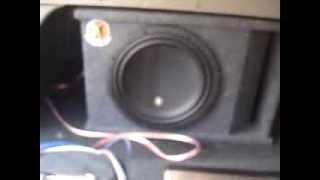 Memphis Car Audio - MCR 12D4 + SRX 1.500 + Monster Cable 300 series XLN