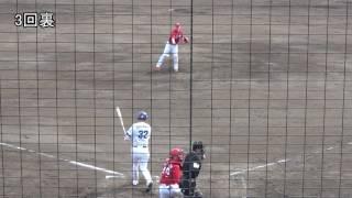 ブレイディン・ヘーゲンズ 3回1失点 20170318 広島カープ 二軍