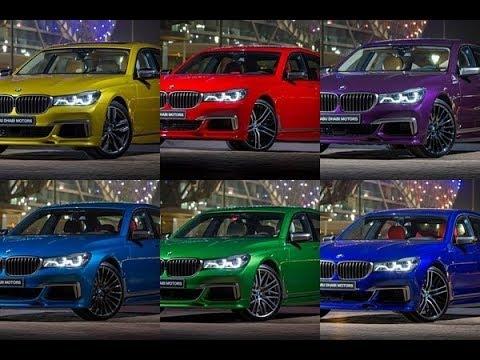 Bmw M760li Rainbow Bmw Individual Colors Youtube