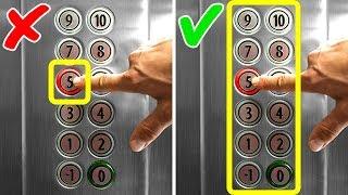 Asansörde Mahsur Kalırsanız Yapabileceğiniz Tek Şey