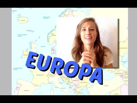 German Country Names of EUROPE 🇪🇺🇪🇺🇪🇺