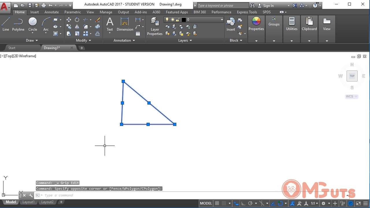 Free Autocad tutorials for new beginner - Move and Copy tools in Autocad