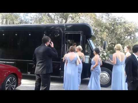 Tampa Wedding Shuttle Service   Tampa Yacht Club   Tampa Bus Rental