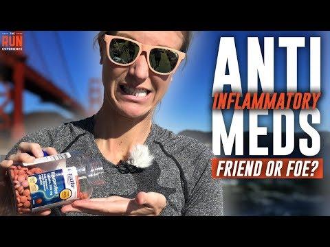 Anti-Inflammatory Meds for Running: Friend or Foe?