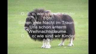 a a a der winter der ist da Kinderlieder Texte German Nursery Rhymes Online YouTube Video