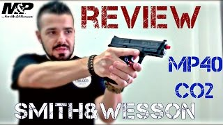 Review Pistola Smith & Wesson MP40 CO2 KWC Airsoft