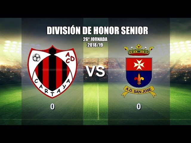 AD Cartaya vs AD San José (2018/19)