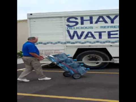 Magliner Trayless Bottled Water Truck