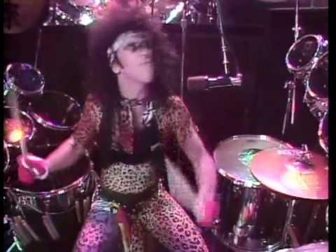 Kiss Black Diamond Animalize Tour 1984 Eric Carr On