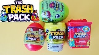Trash Pack Special - 2 Surprise Eggs, 1 Bin and 1 Toilet Unboxing