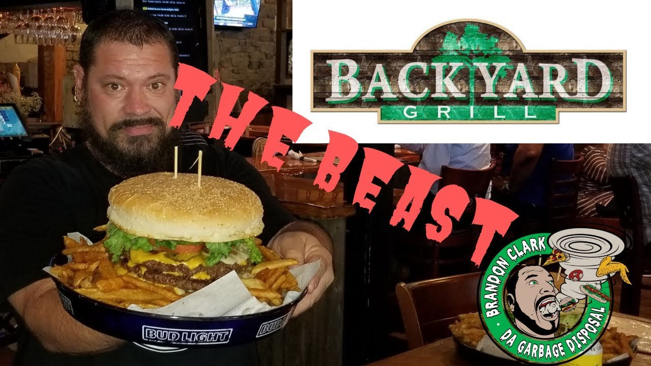 The Beast 9LB Burger and Fries Backyard Grill Houston ...