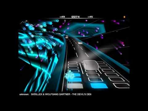 Skrillex  Bangarang Full Album Audiosurf 720p HD