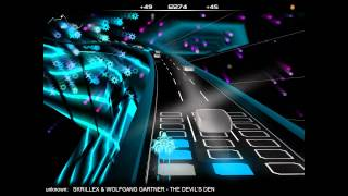 Skrillex - Bangarang (Full Album) Audiosurf 720p HD
