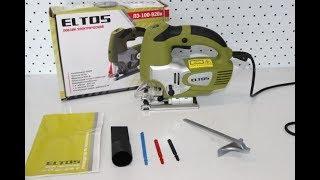Лобзик ELTOS 100-920 розпакування