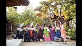 국제커플의 전통혼례 웨딩영상 @한국의집 by 주노무비