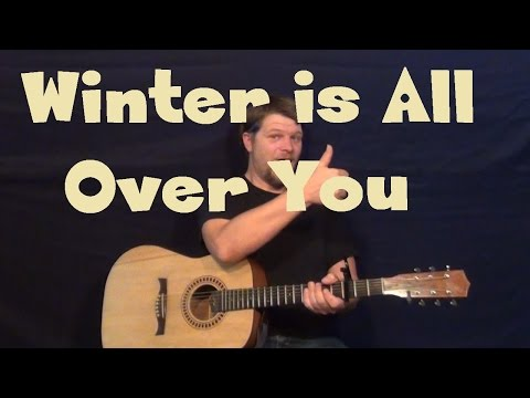 Winter Is All Over You (First Aid Kit) Guitar Lesson - How to Play Tutorial