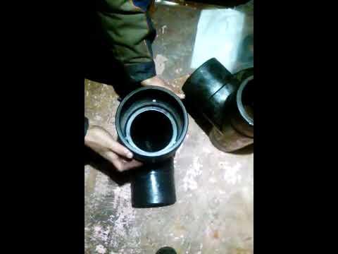 Тройник  и отвод 160 мм SDR11