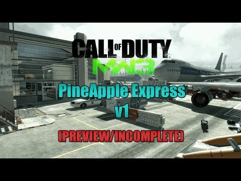 MW3 - PineApple Express v1 Mod Menu (PREVIEW/INCOMPLETE) Made By MrCL57