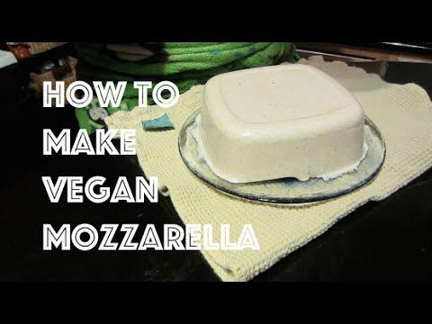 How to Make Vegan Mozzarella