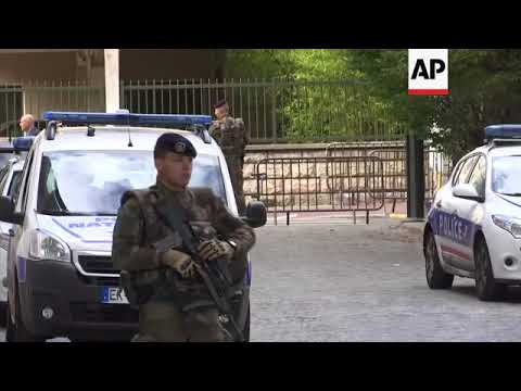 france driver rams car into group of soldiers youtube. Black Bedroom Furniture Sets. Home Design Ideas