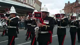 H.M. Royal Marines. Homecoming Parade. Taunton, Somerset. 16th May 2013