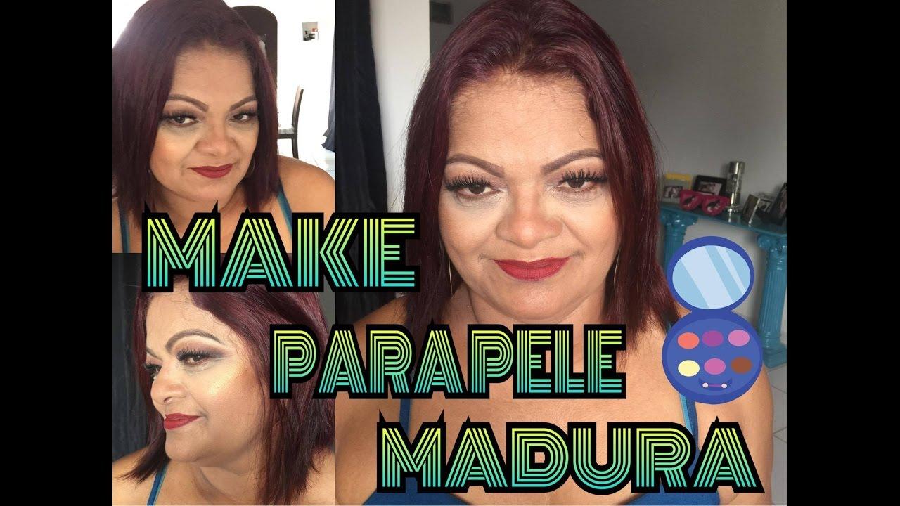 Amigas Maduras maquiando as amigas | make para pele madura ( ft. cátia suely)