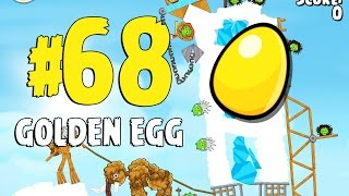 Angry Birds Seasons Ski or Squeal Golden Egg #68 Walkthrough