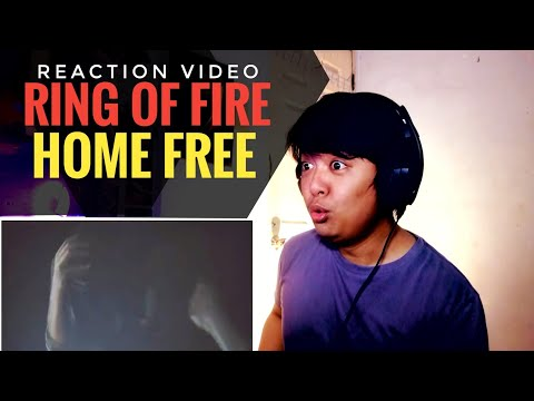 REACTION | Home Free - Ring of Fire (featuring Avi Kaplan of Pentatonix) [Johnny Cash Cover]