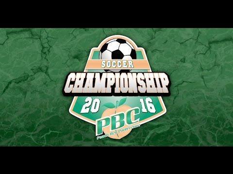 PBC Men's Soccer Championship Game: Lander vs. Young Harris