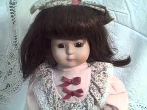 Marian Yu Porcelain Music Box Doll