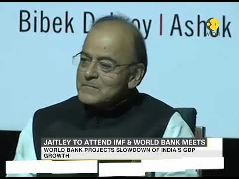 Finance minister Arun Jaitley to meet IMF chief and World Bank leaderd today