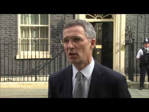 Doorstep Statement by NATO Secretary General Jens Stoltenberg outside Number 10, 14 APR 2016