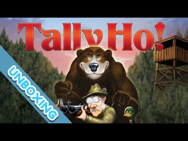 Tally Ho Board Game Unboxing
