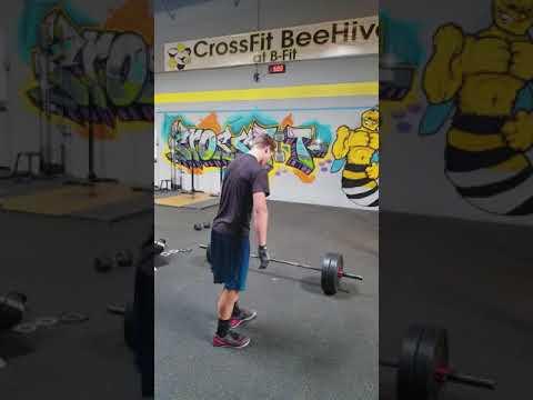 Brett Olsen, West Coast Region, CrossFit Open 18.2 and 18.2b