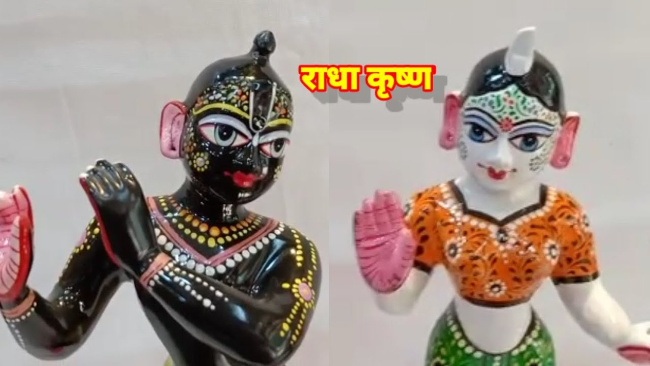 blackkrishna whiteradha murti available ordernow#7705896637 #RKS#radhakrishnashringar #RKS.VRINDAVAN