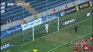 Ильичевец - Черноморец 3:3   Illichivets - Chornomorets ~ Чемпионат Украины ~ 2014/04/08 (HD)