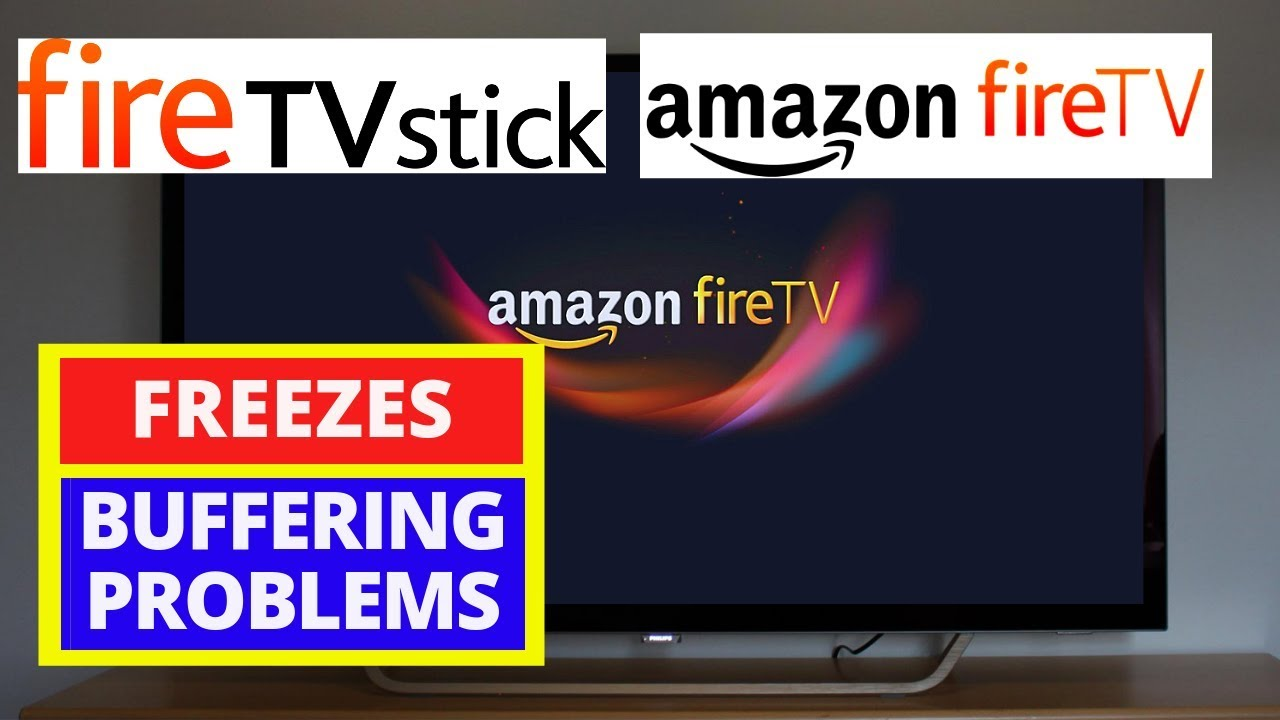 How to fix Amazon Fire TV Stick Buffering Issues || Fix Fire TV Stuck on  Fire TV Logo