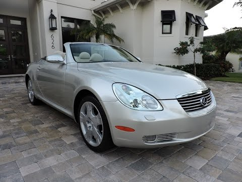 2005 lexus sc430 convertible for sale by auto europa. Black Bedroom Furniture Sets. Home Design Ideas