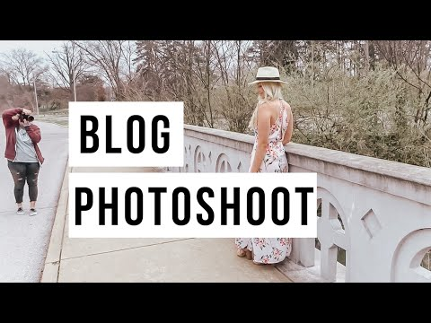 COME ON A BLOG SHOOT WITH ME
