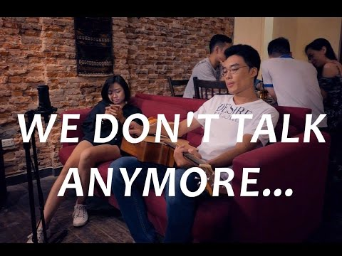We Don't Talk Anymore Acoustic Cover Minh Mon feat. Thuy Tet Charlie Puth