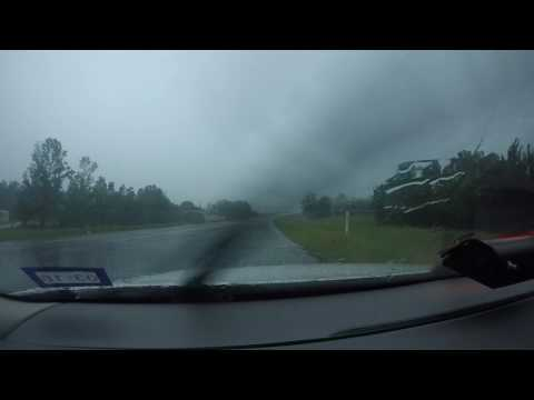 Thunderstorm in Rusk County Texas on 5.3.2017