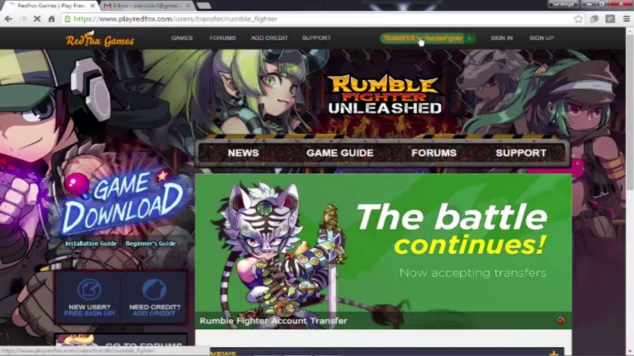 Rumble fighter download filefront.