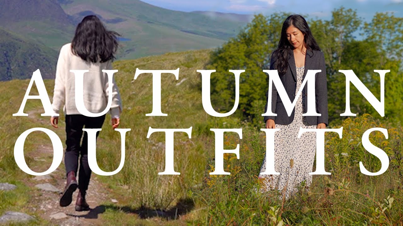 [VIDEO] - 5 EARLY AUTUMN OUTFITS   Fall Travel Lookbook 8