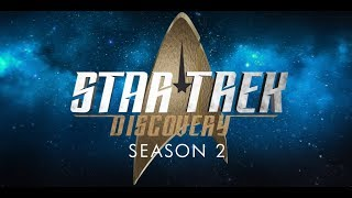 Season 2 Classic-Style Titles for Star Trek Discovery