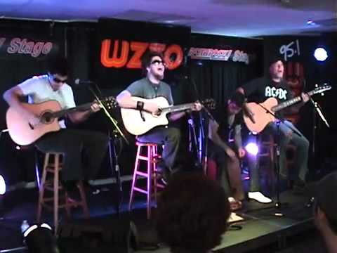 Crossfade  Colors Acoustic, WZZOFM 951 Performance  2011